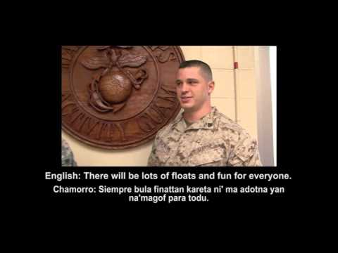 ISLAND CONNECTIONS Chamorro Phrases with Marine Corps Activity Guam