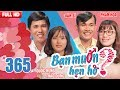 BẠN MUỐN HẸN HÒ | Tập 365 UNCUT | Quốc Hưng - Thảo Dung | Dương Văn Sĩ - Phan Thị Hoa | 120318 💖 thumbnail