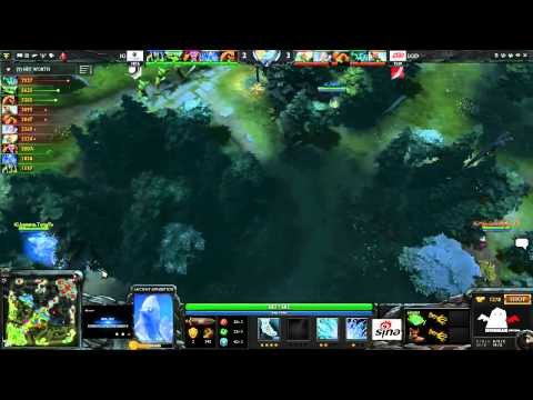 iG vs LGD.cn - Game 1 (SinaCup #2)