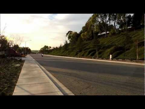 2013 Street Bob Bassani Road Rage Slow and Fast Take off/ Ride by