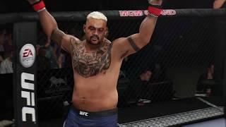 Mark Hunt Knockout EA Sports UFC 3