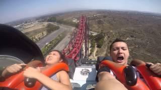 Magic Mountain X2 - Best fear face