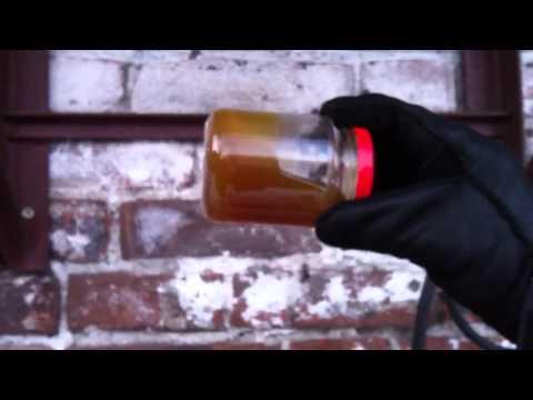 Тест автомобильных масел в крещенские морозы (-35C)