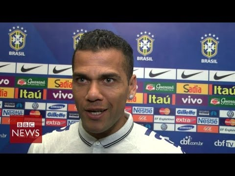What Brazil's footballers really think about protestors  - BBC News