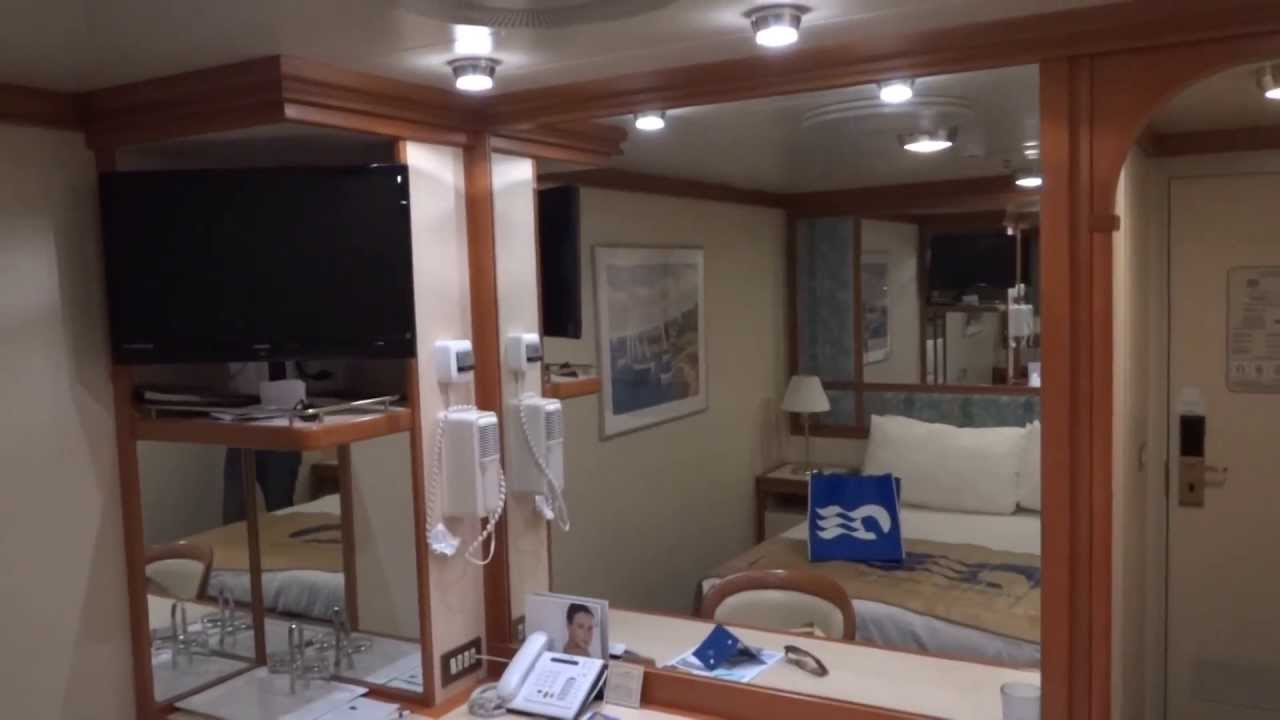 Princess cruise ship interior stateroom tour youtube for Megan u bathroom tour