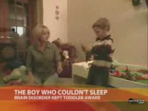 the boy who couldn't sleep [rare disorder]