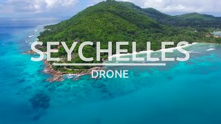 Seychelles 4k drone - La Digue Islands