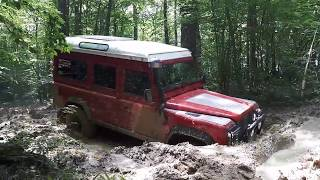 Thénissey 2018 Land Rover Defender/Discovery 3 offroad