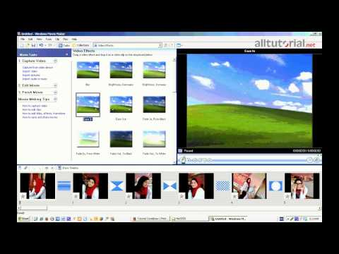 Cara mengedit vidio dengan windows movie maker