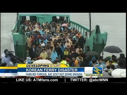 Korea Ferry Accident: Families Anxiously Wait