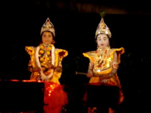 Shri Krishna Dance In Ras Leela video