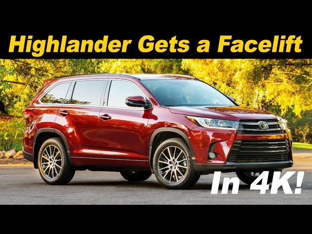 2017 Toyota Highlander First Drive Review and Road Test ...