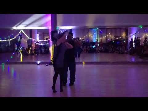 UKDC - Xmas Party - Julia & Adilio (freestyle) - video by Zouk Soul