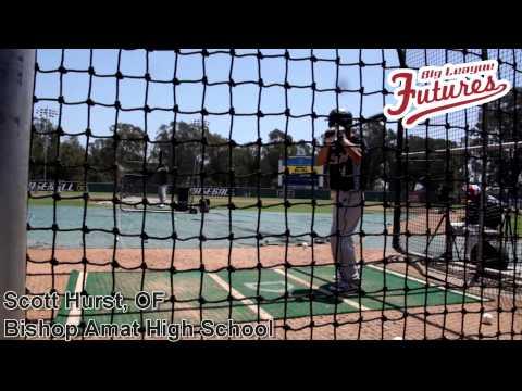 Scott Hurst, OF, Bishop Amat High School, Batting Practice at the @acbaseballgames