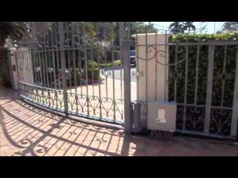 minecraft fence door