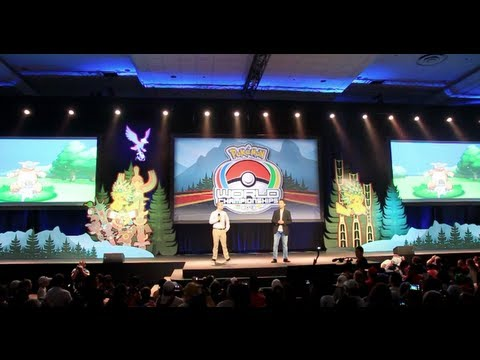 Pokémon Worlds 2013 Opening Ceremony (With Mega Kangaskhan!) - Smashpipe Entertainment Video