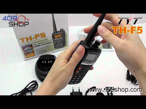 TYT TH-F5 VHF 136-174Mhz Amateur two-way radio