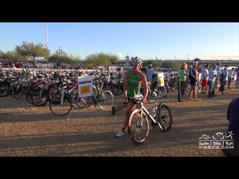 EXTENDED RACE FOOTAGE Pro Men and Women T1, 2013 Ironman Arizona