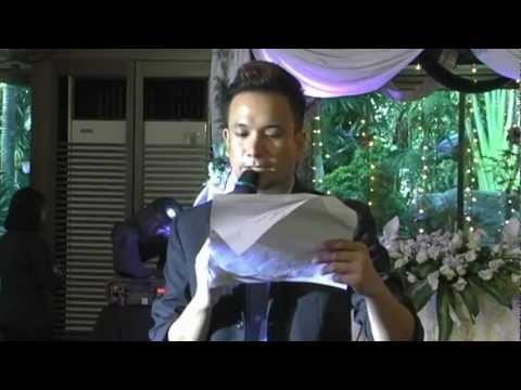 Remus Mark Carballo, your Manila wedding & events emcee