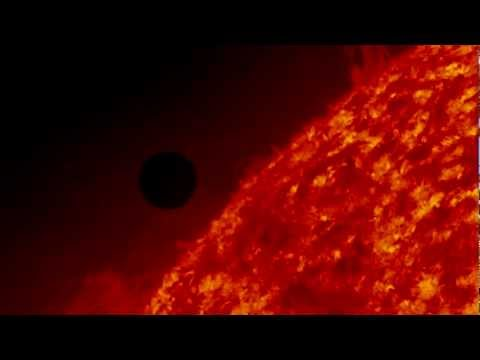 Awesome Venus Transit 2012 NASA/SDO HD 720p!