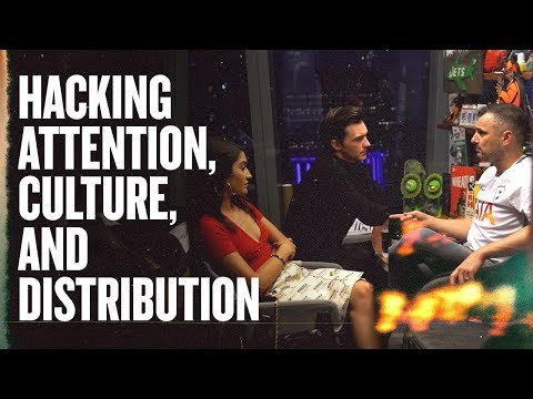 How Drake Bell From Drake and Josh Is Planning to Hack Culture and Attention | Meeting in NYC, 2018