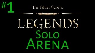 The Elder Scrolls: Legends (Solo-Arena) #1 - Drafting!