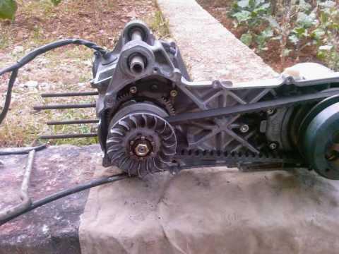 Minarelli AC 50cc engine - full rebuild