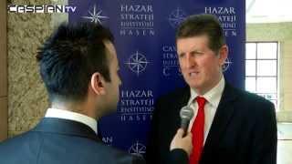 Soykan Bektaş Türkmenistan-İngiltere Ticaret ve Sanayi Konseyi Eş Başkanı Ronald Nash röportajı