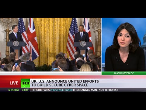 Snooping Alliance: UK, US announce united efforts to build secure cyberspace