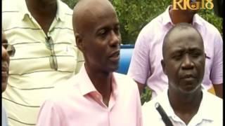 VIDEO: President Jovenel Moise ap pale de Kouran ke Saut-Mathurine kapab pwodui san boule gaz