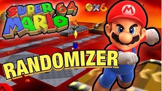 WTF IS GOING ON!?! | Super Mario 64 RANDOMIZER Gameplay