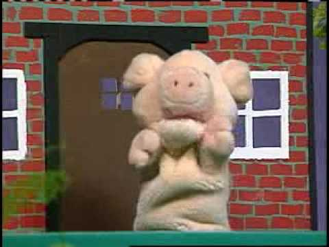 Three little pigs puppet show youtube