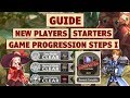 King's Raid   New Players Starting Guide + Game Progression Steps (Part 1)