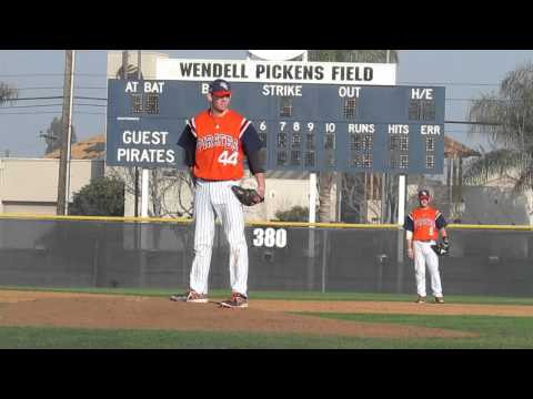 RHP David Hill, So. Orange Coast College (CA)
