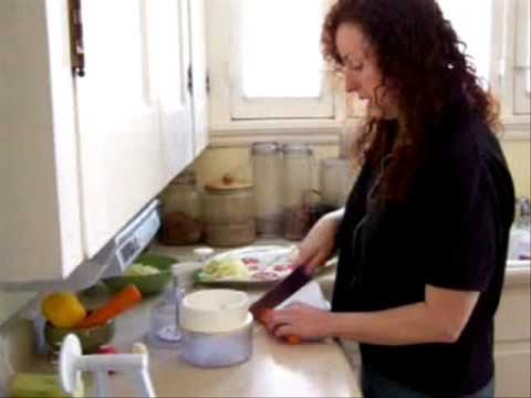 Wendi Dee of Pure Jeevan Makes Pasta, Part 1 of 2 Video