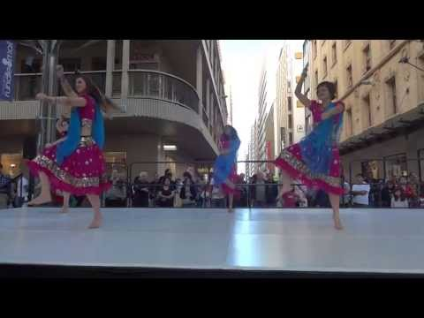 Fusion Beats Bollywood performance at Ausdance Dance Week Adelaide...