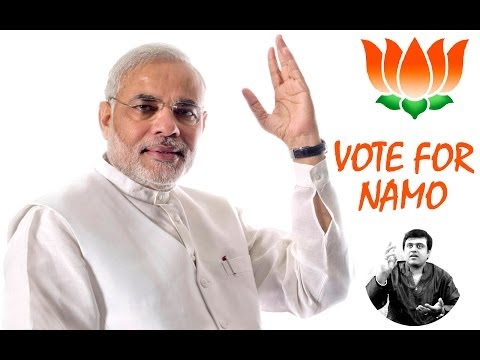 VOTE FOR SHRI NARENDRA MODI 'NAMO' in Konnakol Style !!! by B.R.Somashekar Jois