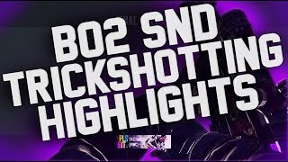 SoaR Trif: Insane Carrier Sui! Funniest BO2 SND Trickshotting Highlights/Moments Yet! (8 Shots)