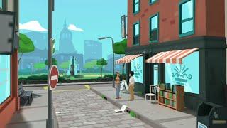 Mr Ramu In The City   Animated Short Film   My First Plotagon Cartoon Movie