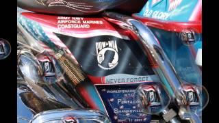 Al Deros'a Patriotic motorcycle 2015