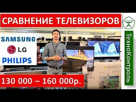 Обзор Ultra HD телевизоров LG, Samsung, Philips до 160 000р.   Technocontrol