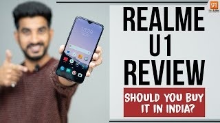 Realme U1 Hindi Review: Should you buy it in India?[Hindi हिन्दी]