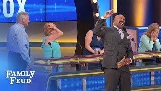 Larry goes to the PROMISED LAND!! | Family Feud