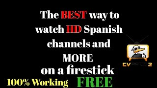 How to watch Spanish channels on a firestick 2018(100% working)