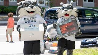 UNH Move In Day 2015