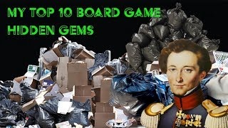 Top 10 Hidden Gem Board games