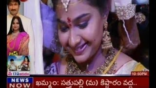 Gopichand ties a knot with Reshma  TV5
