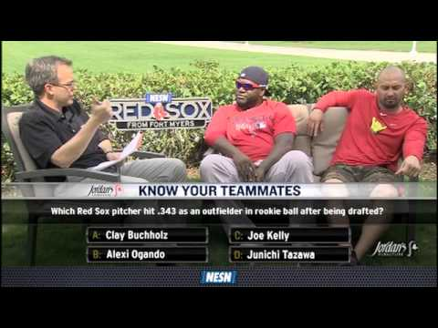 David Ortiz Takes On Shane Victorino In 'Know Your Teammates'