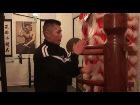 FMK Wooden Dummy Training - This is not Wing Chun, This is Sifu Freddie Lee Image 1