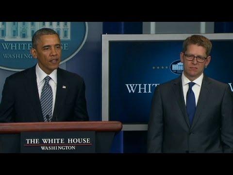 Press Secretary Jay Carney steps down